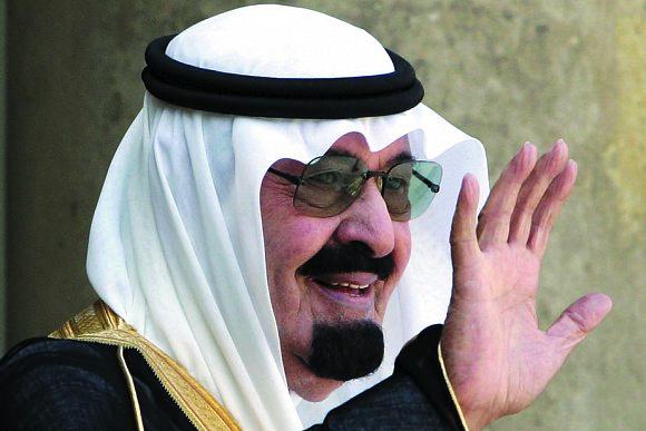 خادم الحرمين الشريفين الملك عبدالله بن عبدالعزيز آل سعود