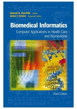 Medical Informatics Require Textbook
